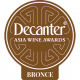 Medalla de Bronce, vintage 2.008, Decanter Asia Awards 2.015, Hong Kong